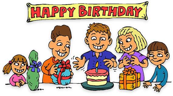 birthday party children - Birthday Clip Art