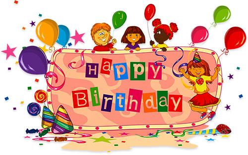 birthday party for kids - Birthday Clip Art