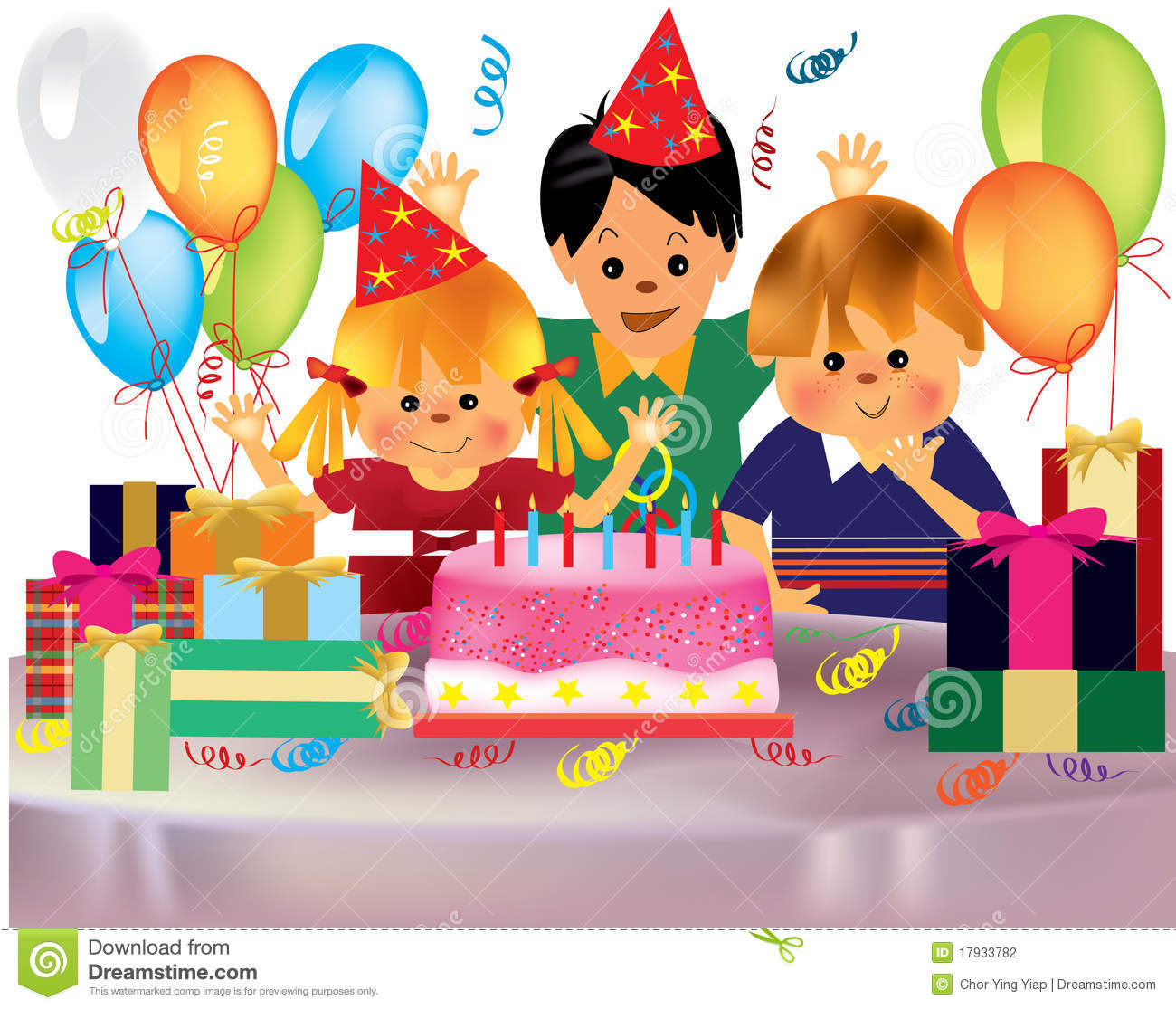 Birthday Party Images Clip Art. Resolution 1300x1115 .