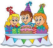 birthday party invitation template; kids birthday party ...