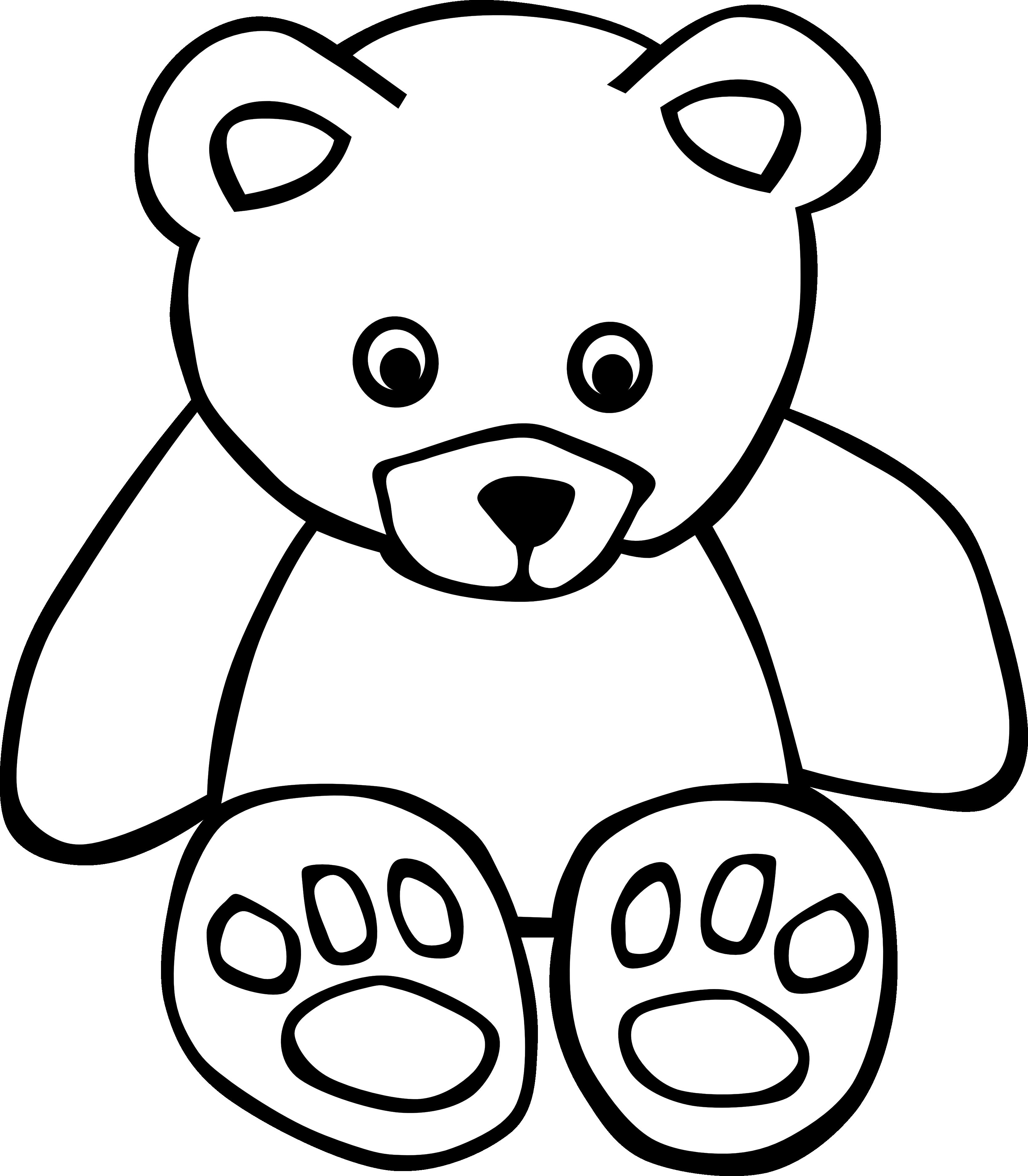 Black Bear Clipart u0026middot; Black Clip Art u0026middot; Teddy Bear Clip Art