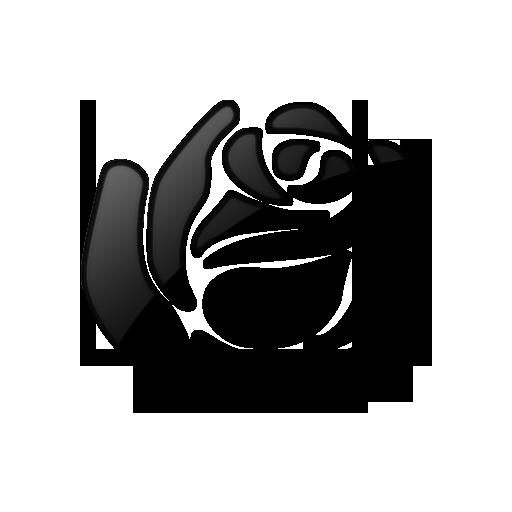 Black And White Clip Art Rose Black And White Clip Art
