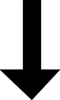 Black arrow clip art free .