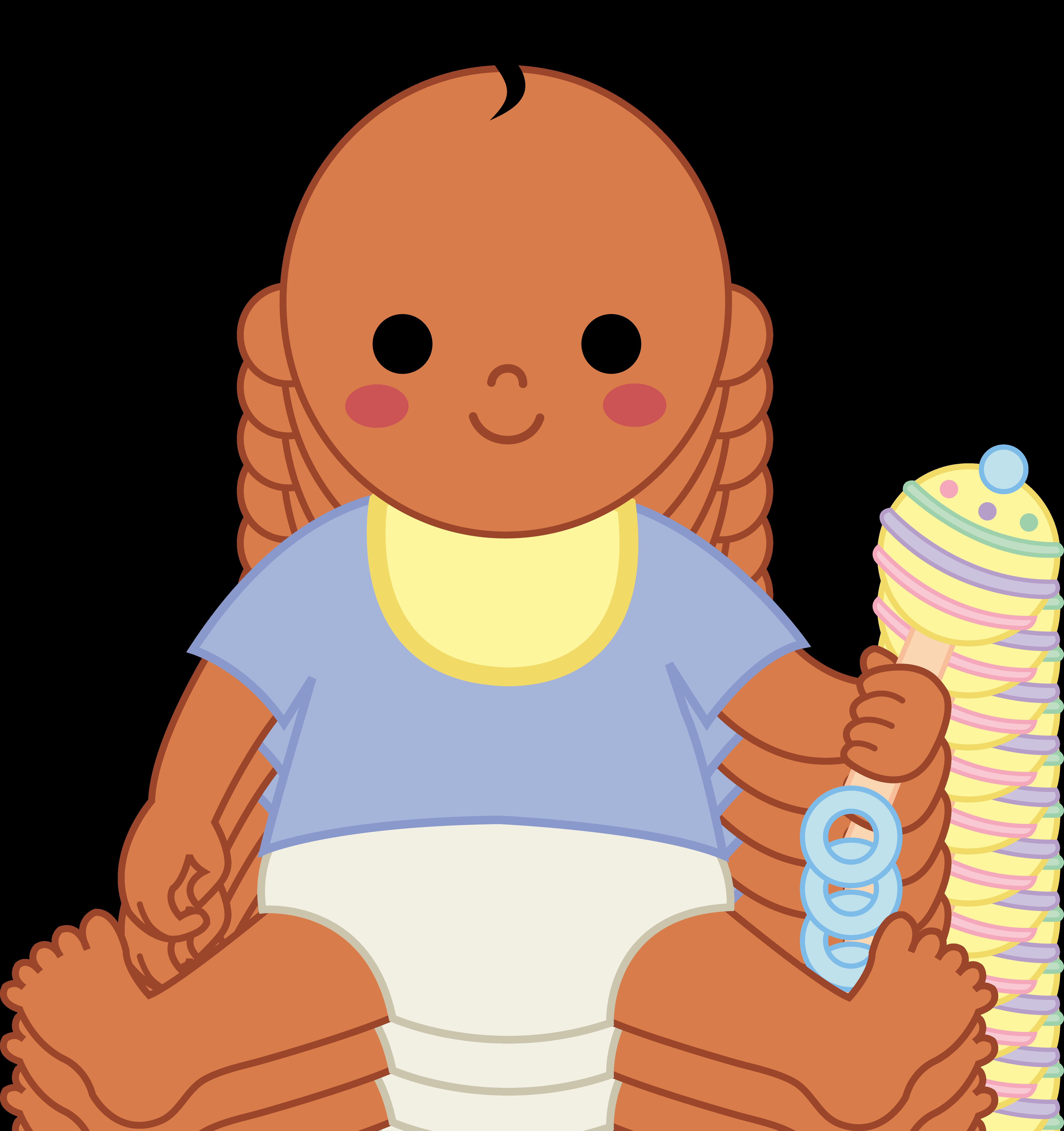 Black Baby Boy Clip Art - Clipart library