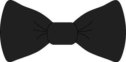 Black Bow Tie Clip Art - transparent png black bow tie image.