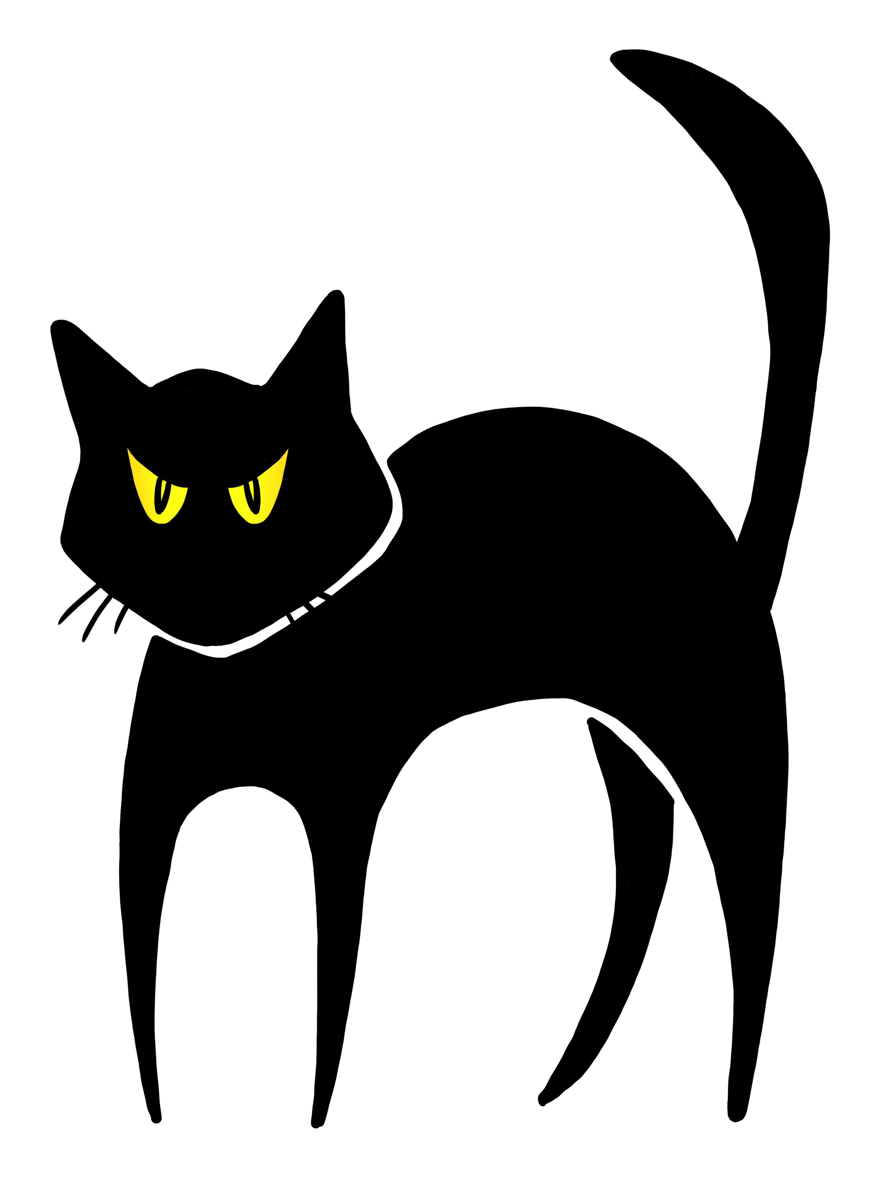 Black Cat Clip Art Clipart Best