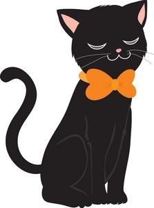 Black Cat Clip Art Images Black Cat Stock Photos Clipart Black Cat