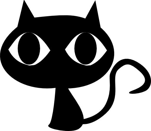 Black Cat Clipart Royalty Free .
