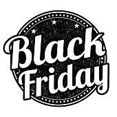 Black Friday Retail Labels · Black friday stamp