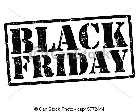 Black friday stamp - csp15772444