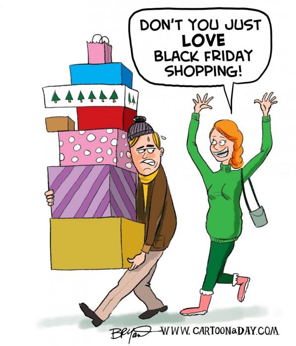 I Love Black Friday Shopping!