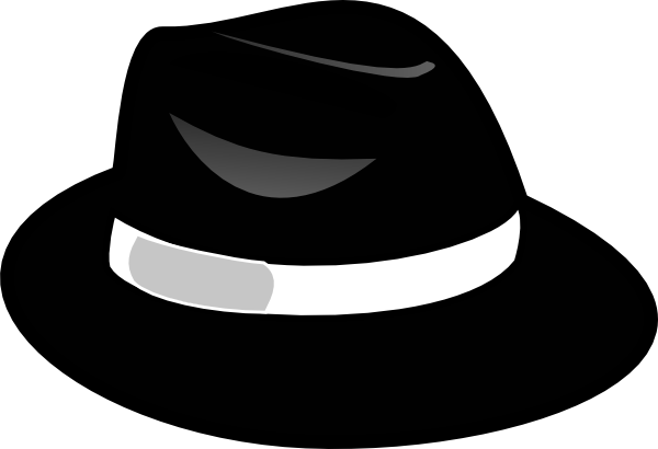 Black Hat Clip Art At Clker Com Vector Clip Art Online Royalty Free