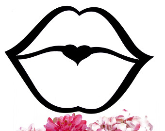 Black Kissing Lips Clip Art Car Pictures
