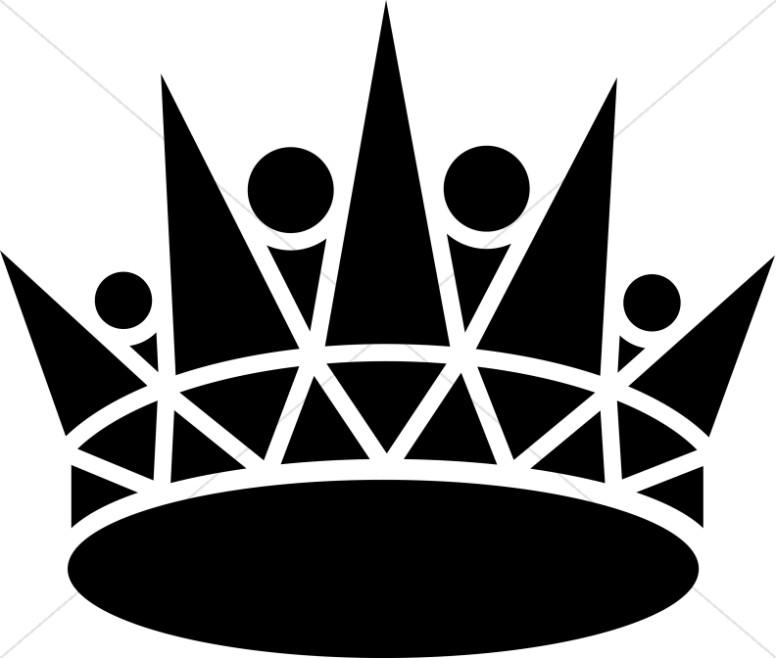 Black Pointed Crown