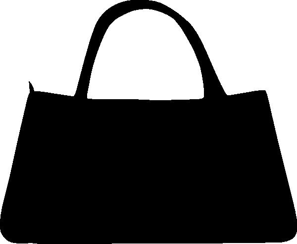 Black Purse Clip Art At Clker Com Vector Clip Art Online Royalty