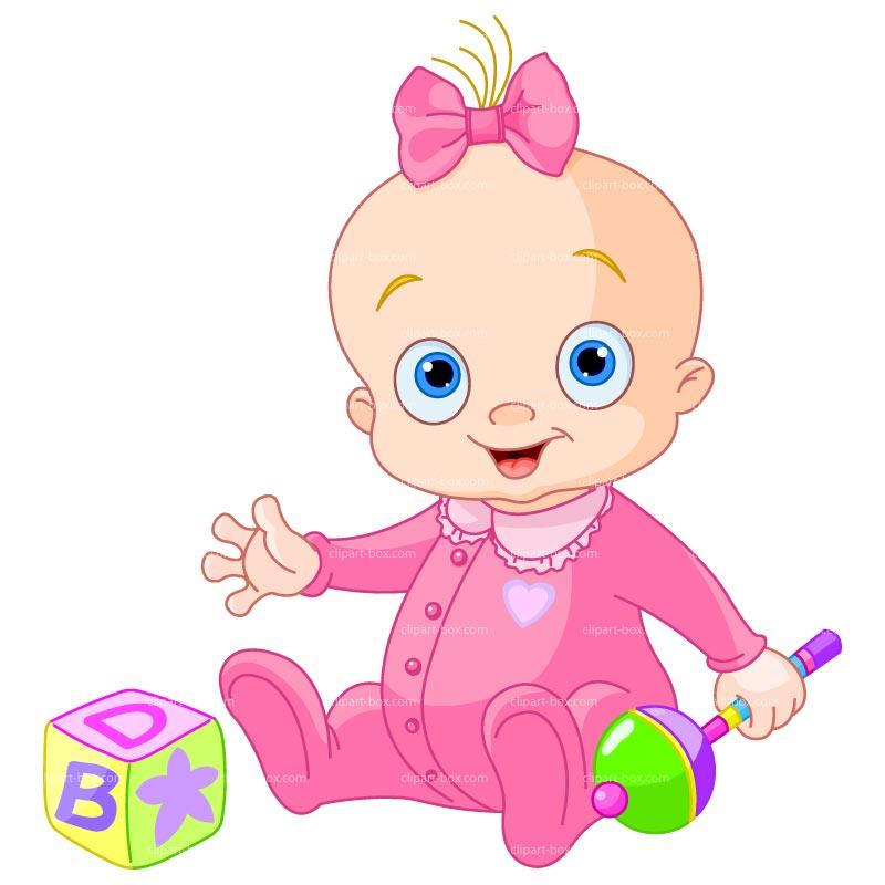 Black Toddler Clipart