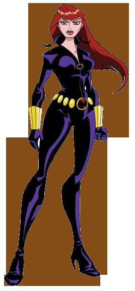 Avengers Black Widow Clipart #1