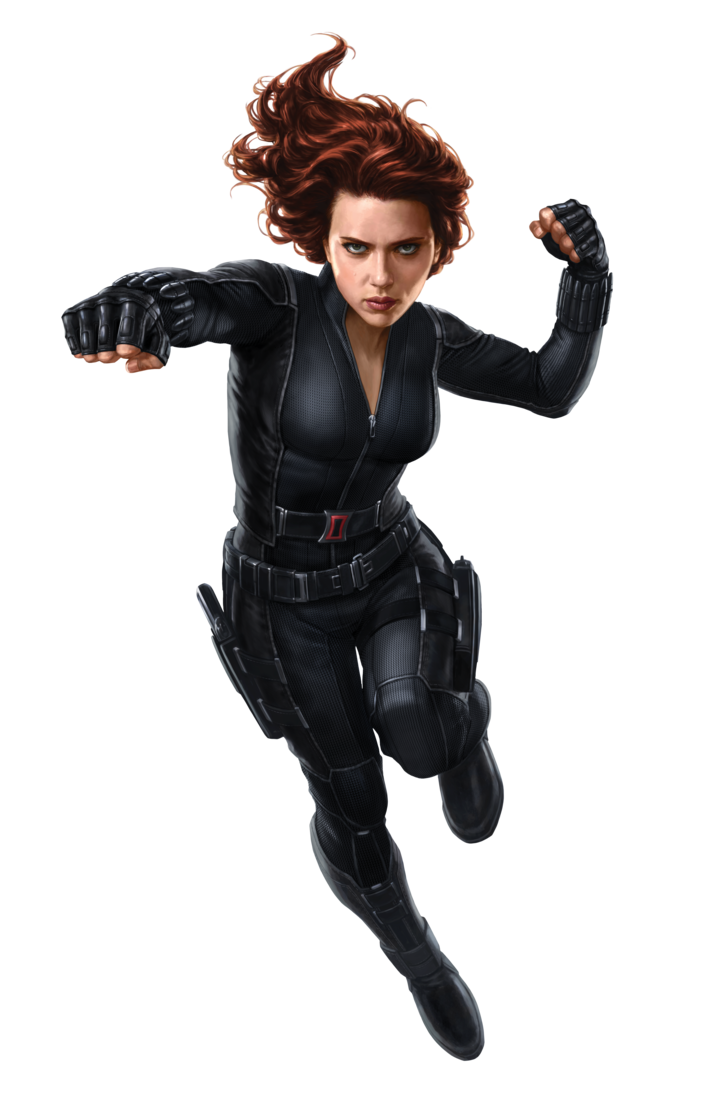 Black Widow clipart hero #1
