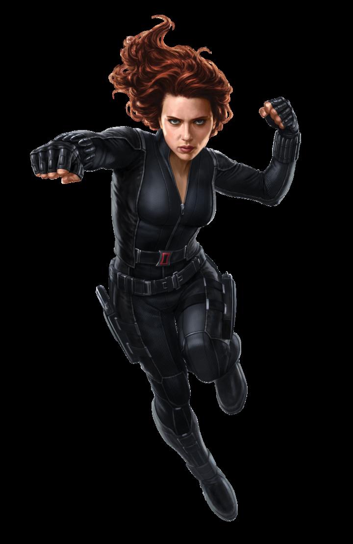 Black Widow clipart hero #1