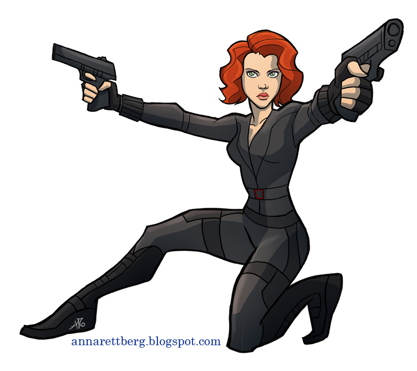 Black Widow clipart superhero #15