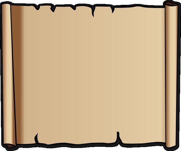 blank christmas scroll clip art