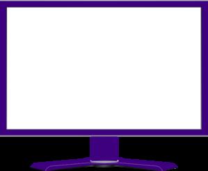Blank computer screen clipart - ClipartFest