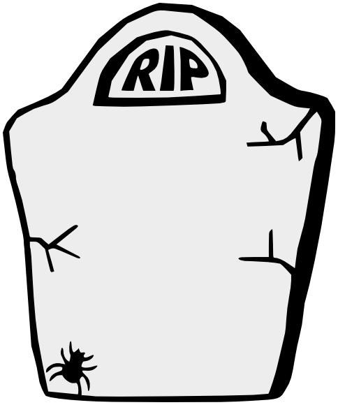 Blank Headstone Clipart