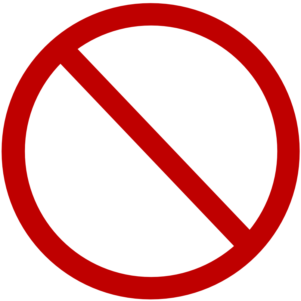 ... Blank stop sign clip art ...