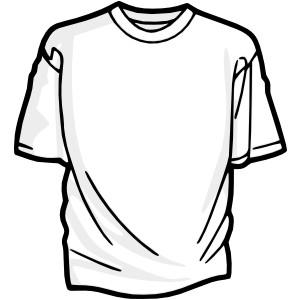 Blank T Shirt 2 clip art