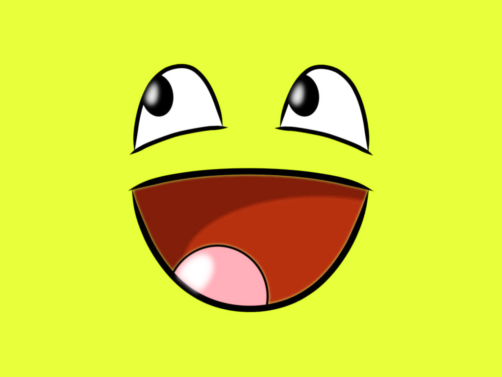 Blank Yellow Big Smile Clipart