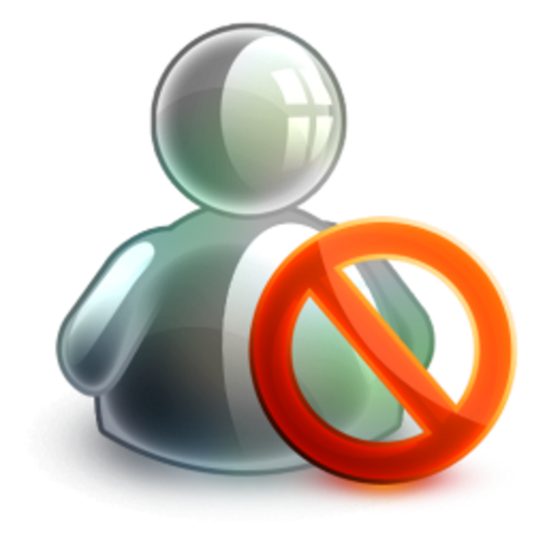 Blocked Offline Icon | Free Images at Clker clipartlook.com - vector clip art online,  royalty free u0026 public domain
