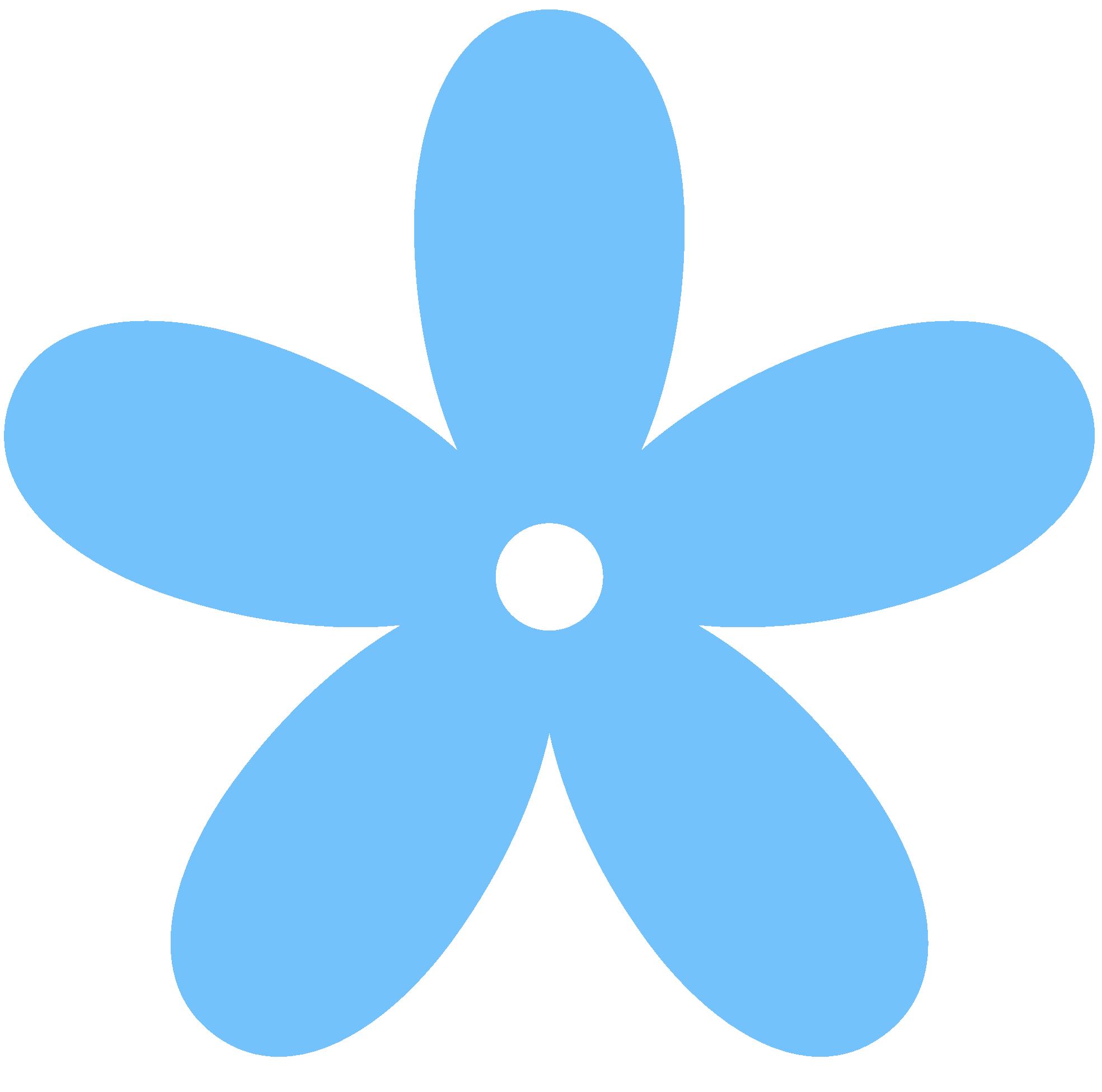 blue color clipart