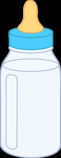 Blue Baby Bottle .