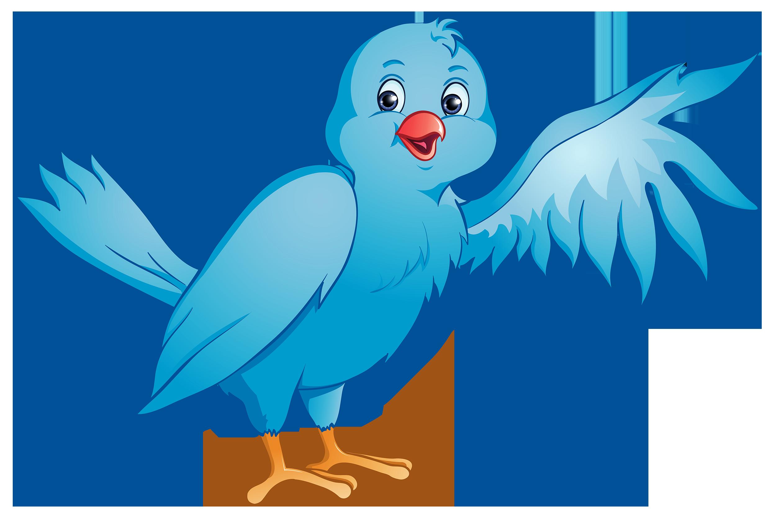 Blue Bird PNG Clipart