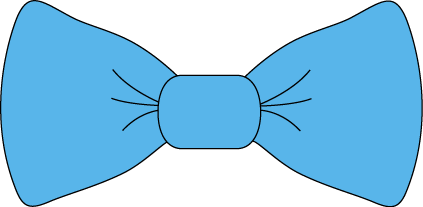 Blue Bow Tie Clip Art - transparent png blue bow tie image.