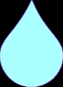 Blue Drop Clip Art. Tear Drop Picture