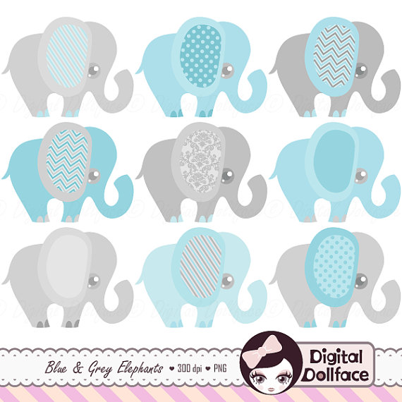 Blue Elephant, Baby Shower Invitation Clipart, Baby Boy Clip Art, Elephant Graphics | Pinterest | Elephant baby, Babies and Elephant baby showers