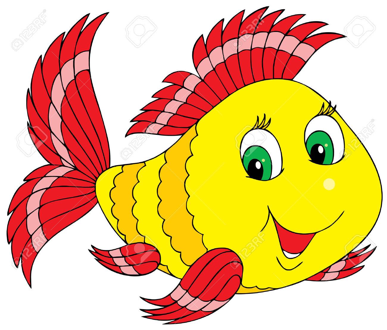 Blue fish fish clip art free