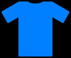 Blue Football Top Clip Art