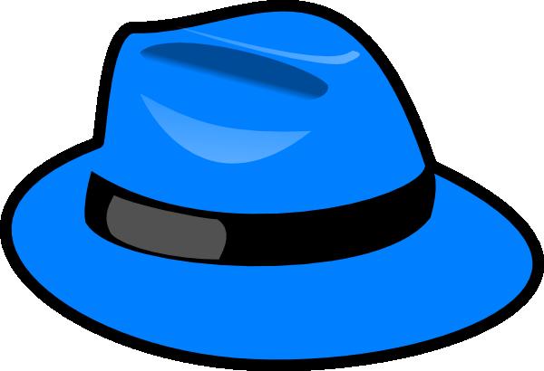 Blue Hat Clip Art At Clker Com Vector Clip Art Online Royalty Free