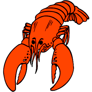 Blue Lobster Clipart As Well As Shrimp And Lobster Tails Dinners