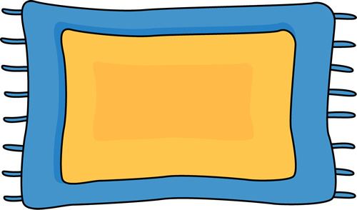 Blue Rug Clip Art