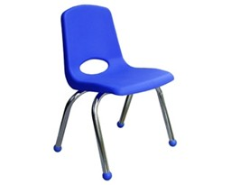 Blue School Chair Clipart #1