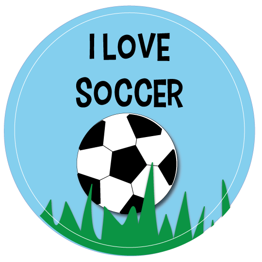 Blue Soccer Ball Clip Art | Clipart library - Free Clipart Images