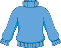 Blue Sweater Clipart Size: 66 Kb