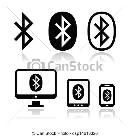 Bluetooth Connection Vector Icons S