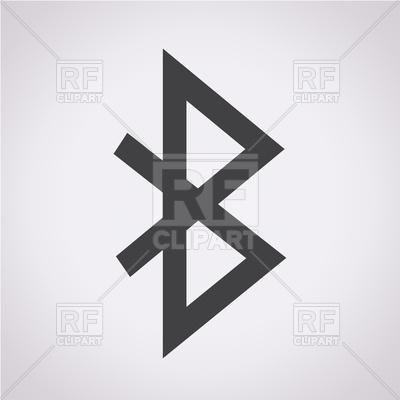 Bluetooth icon, 191850, download royalty-free vector vector image ClipartLook.com