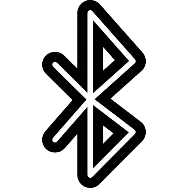 Bluetooth symbol Free Icon