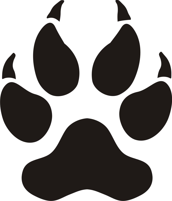 ... Bobcat Paw Print   Free Download Clip Art   Free Clip Art   on .