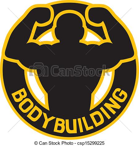 bodybuilding badge - csp15299225